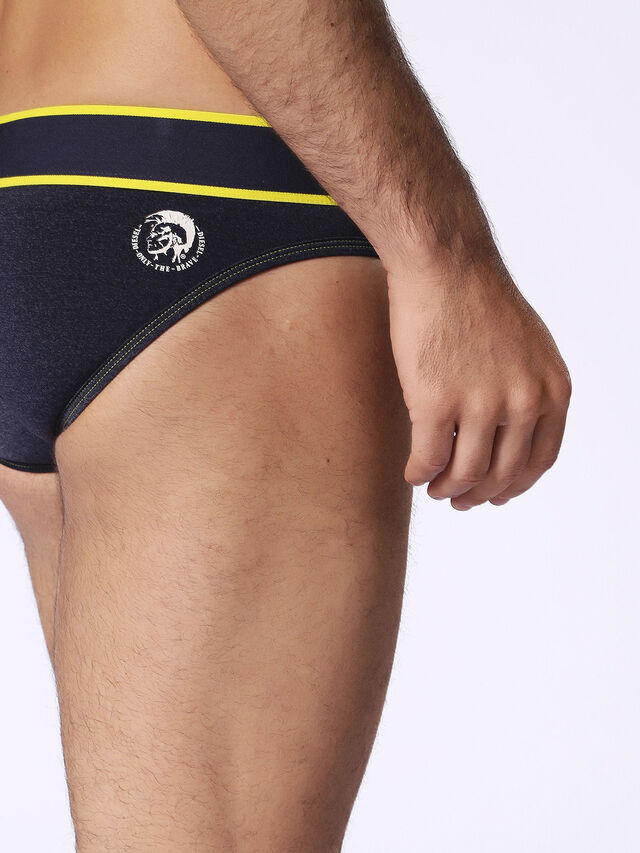 55-DBRIEF, Blue/Yellow