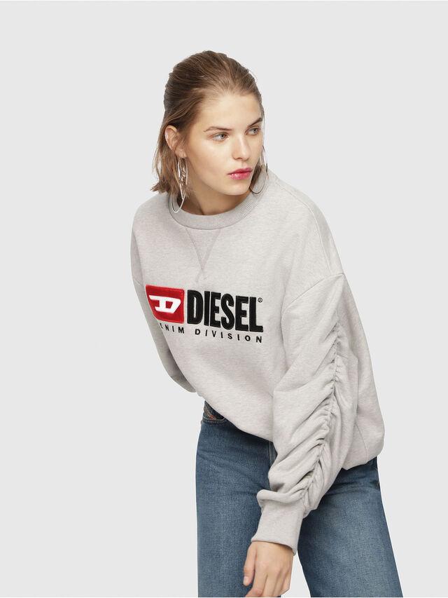 Diesel - F-ARAP, Light Grey - Sweaters - Image 4