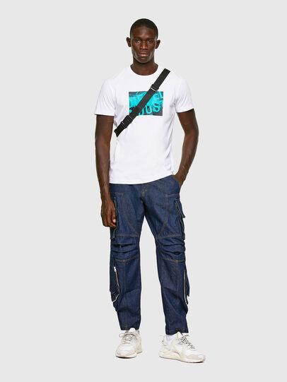 Diesel - T-DIEGOS-K16, White - T-Shirts - Image 4