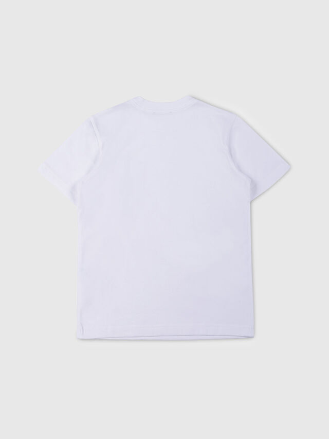 Diesel - TJUSTPOCK, White - T-shirts and Tops - Image 2