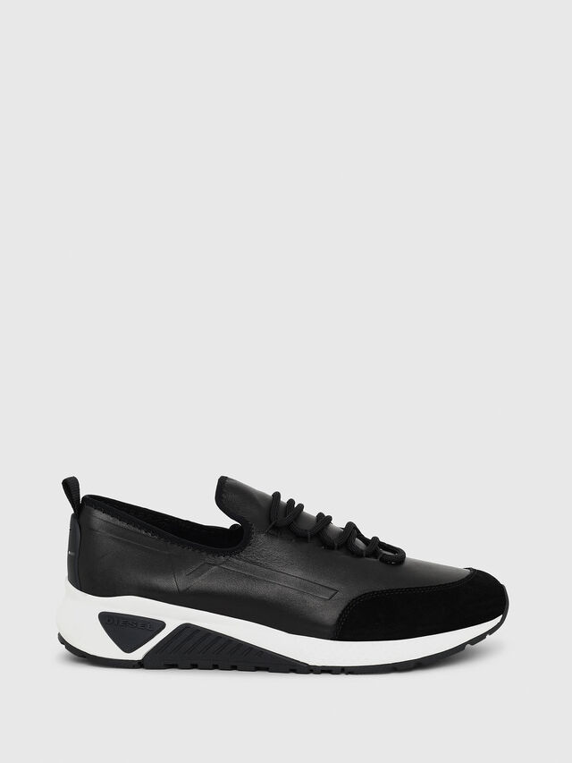 Diesel - S-KBY, Black Leather - Sneakers - Image 1