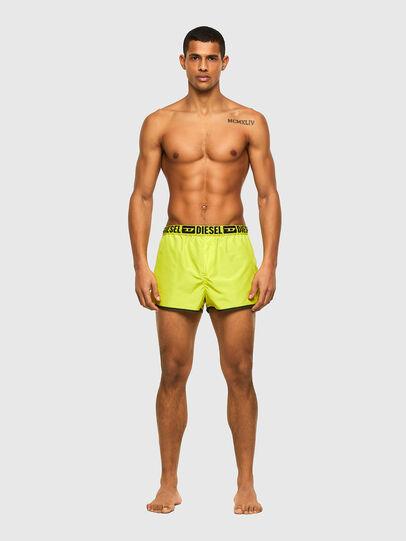 Diesel - BMBX-SANDY-REV, Black/Yellow - Swim shorts - Image 4