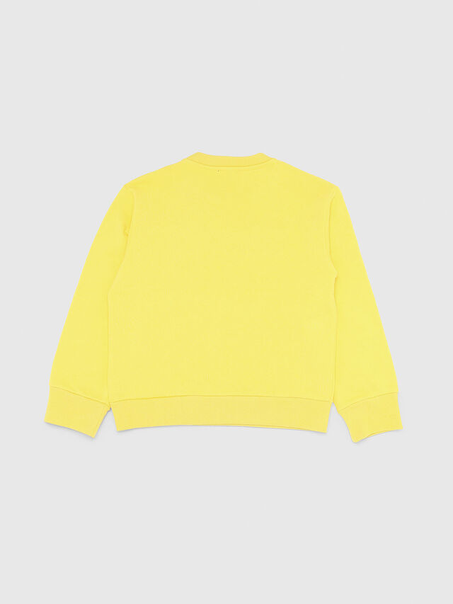 Diesel - SCREWDIVISION OVER, Yellow - Sweaters - Image 2