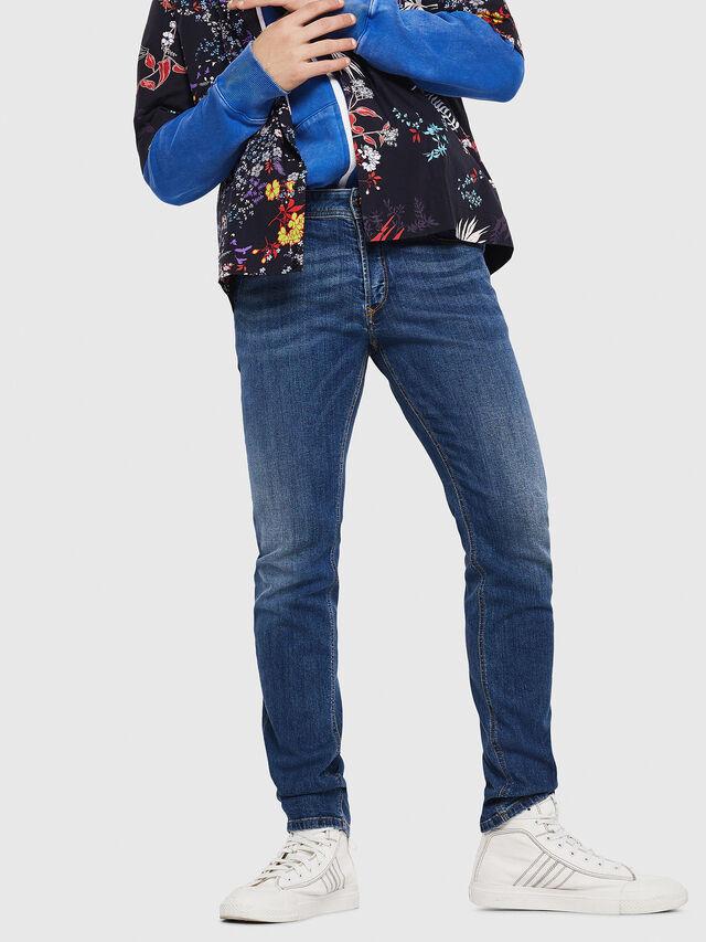 Diesel - Sleenker 069AJ, Medium blue - Jeans - Image 4