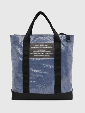F-THISBAG SHOWAY, Blue/Black - Shopping and Shoulder Bags