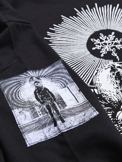 Diesel - TLUCASLSYA OVER, Black - T-shirts and Tops - Image 3