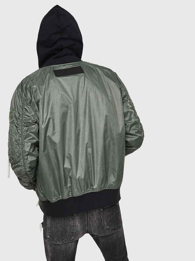 Diesel - J-TOSHIO, Dark Green - Jackets - Image 2