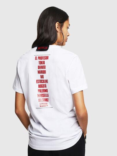 Diesel - LCP-T-DIEGO-CASA, White - T-Shirts - Image 4