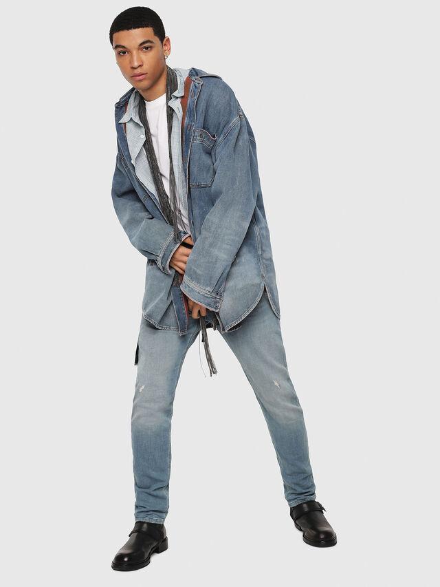 Diesel - Krooley JoggJeans 086AY, Medium blue - Jeans - Image 5