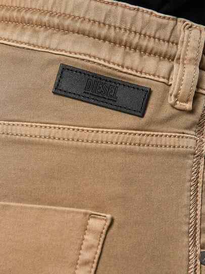 Diesel - Krailey JoggJeans 0670M, Beige - Jeans - Image 4