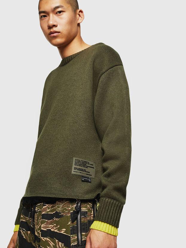 K-PILOT, Military Green - Knitwear