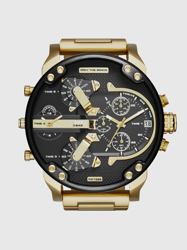 Diesel DZ7333 MR. DADDY 2.0, Gold - Timeframes - Image 1