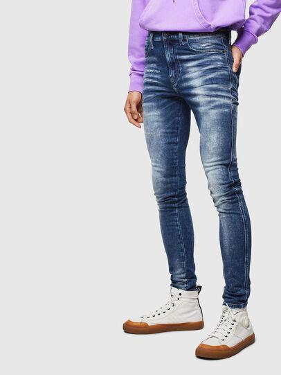 Diesel - D-Reeft JoggJeans 0096M, Dark Blue - Jeans - Image 1