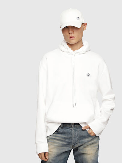 Diesel - S-AFTER, White - Sweaters - Image 1