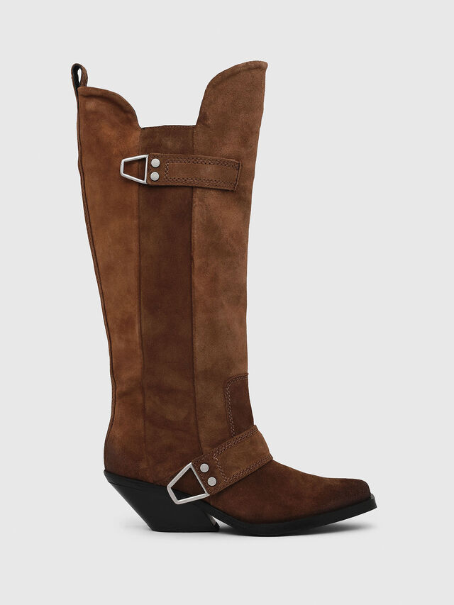 Diesel - D-GIUDECCA MB, Brown - Boots - Image 1