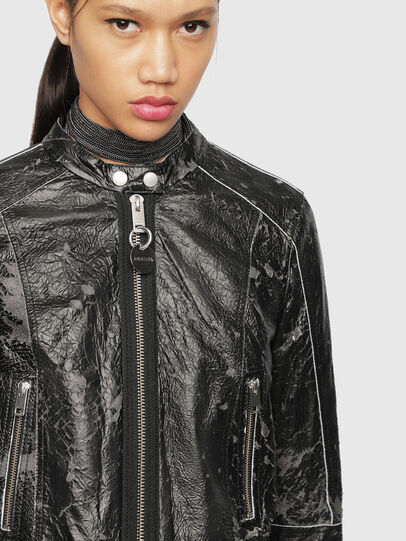 Diesel - L-LYSSA-D,  - Leather jackets - Image 1