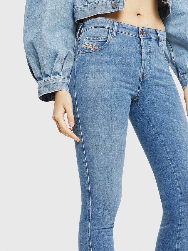 Diesel - Babhila 086AK, Light Blue - Jeans - Image 3