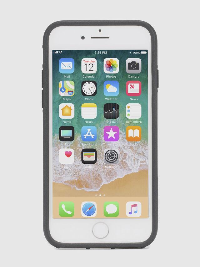 Diesel MOHICAN HEAD DOTS BLACK IPHONE 8 PLUS/7 PLUS/6s PLUS/6 PLUS CASE, Black - Cases - Image 4