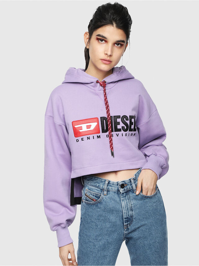 Diesel - F-DINIE-A, Lilac - Sweaters - Image 1