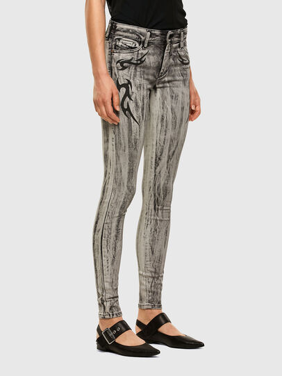 Diesel - Slandy 069NH, Light Grey - Jeans - Image 5
