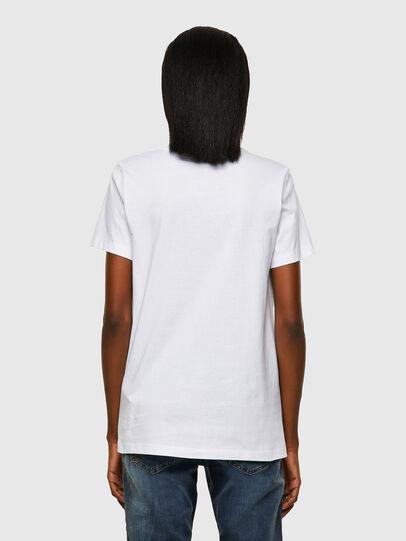 Diesel - T-SILY-ECOSMALLOGO, White - T-Shirts - Image 2
