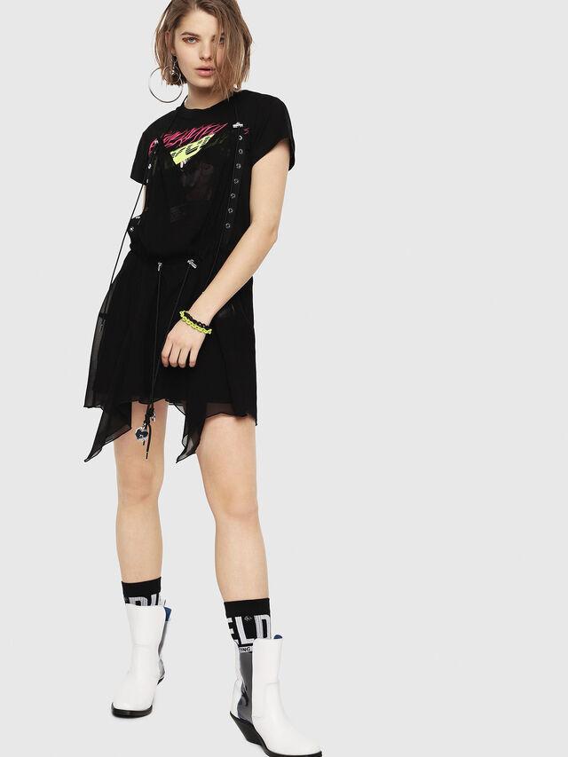 Diesel - D-LYAN-B, Black - Dresses - Image 1