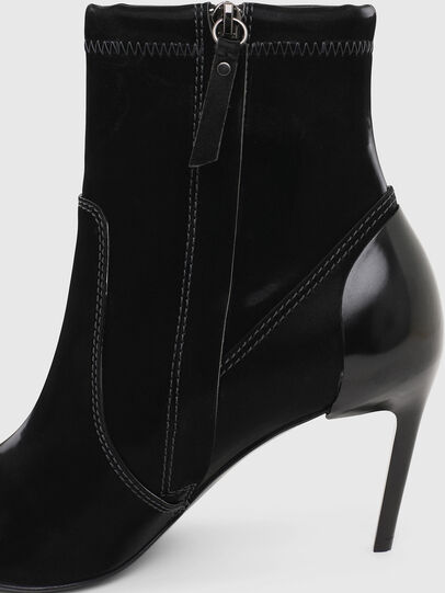 Diesel - D-SLANTY MABZC, Black - Ankle Boots - Image 6