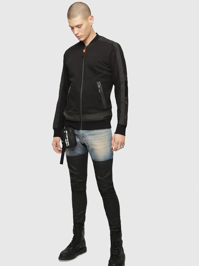 Diesel - S-ISAO-SW, Black - Jackets - Image 4