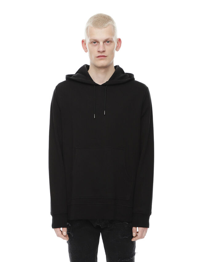 Diesel - SNEILBOOD-PATCHWORK, Black - Sweaters - Image 1