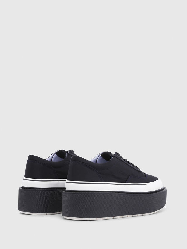 Diesel - H-SCIROCCO LOW, Black - Sneakers - Image 3