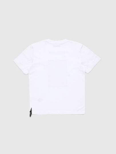 Diesel - TJUSTY7, White - T-shirts and Tops - Image 2