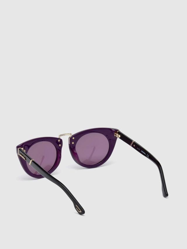 Diesel - DL0211, Violet - Sunglasses - Image 2