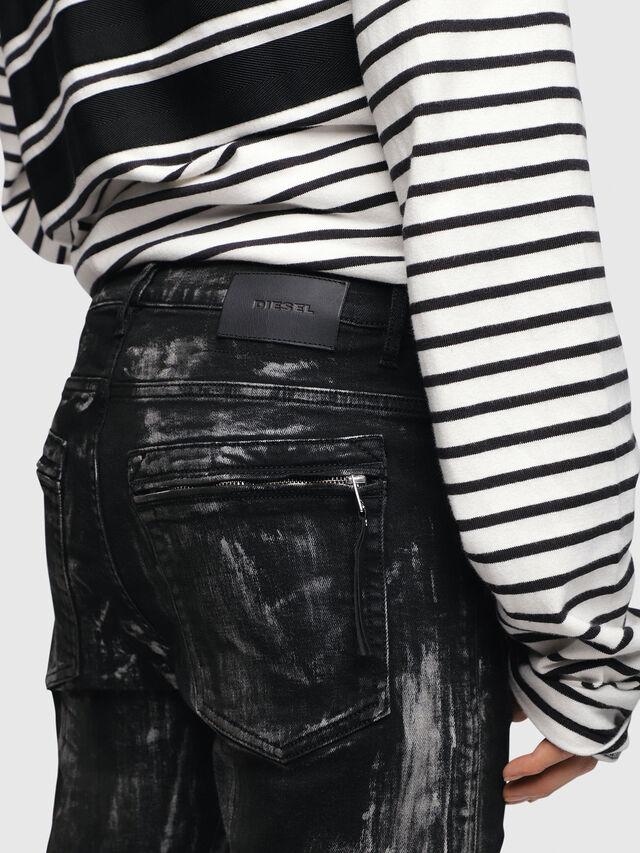 Diesel - D-Amny 089AF, Black/Dark grey - Jeans - Image 4