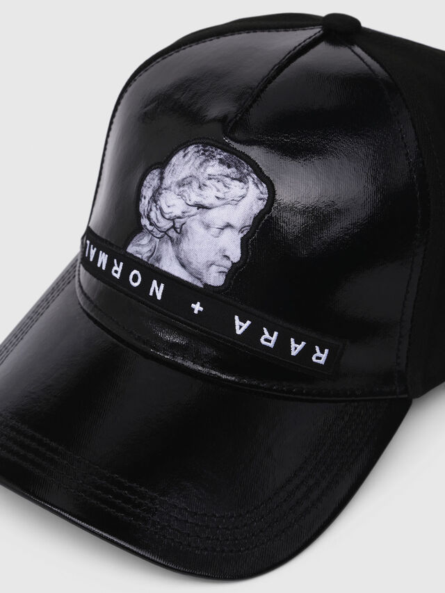 Diesel - C-VENU, Black Leather - Caps - Image 3
