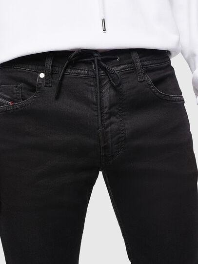 Diesel - Thommer JoggJeans 0687Z, Black/Dark grey - Jeans - Image 3