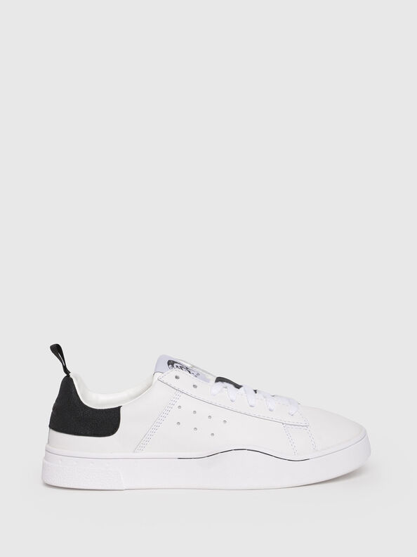 S-CLEVER LOW W, White/Black - Sneakers