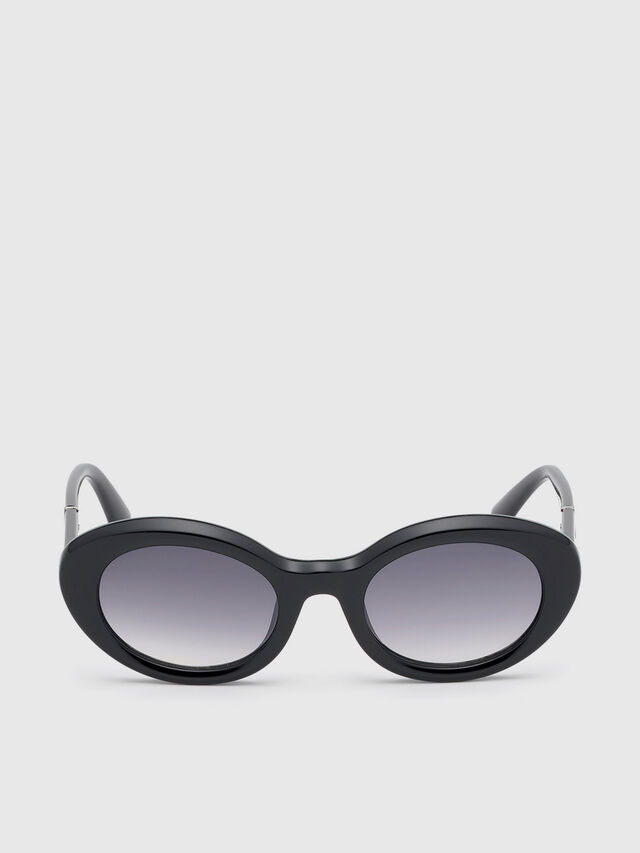 Diesel - DL0281, Black - Sunglasses - Image 1