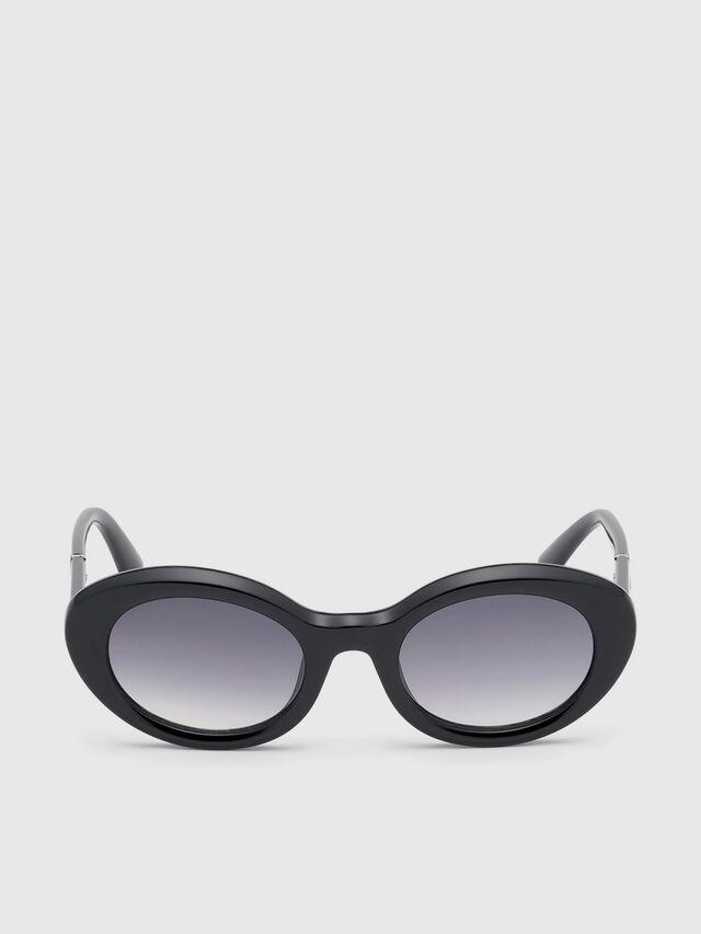 Diesel - DL0281, Black - Sunglasses - Image 1