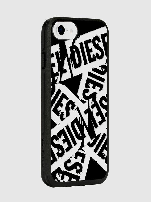 Diesel - MULTI TAPE BLACK/WHITE IPHONE 8/7/6S/6 CASE, Black - Cases - Image 6