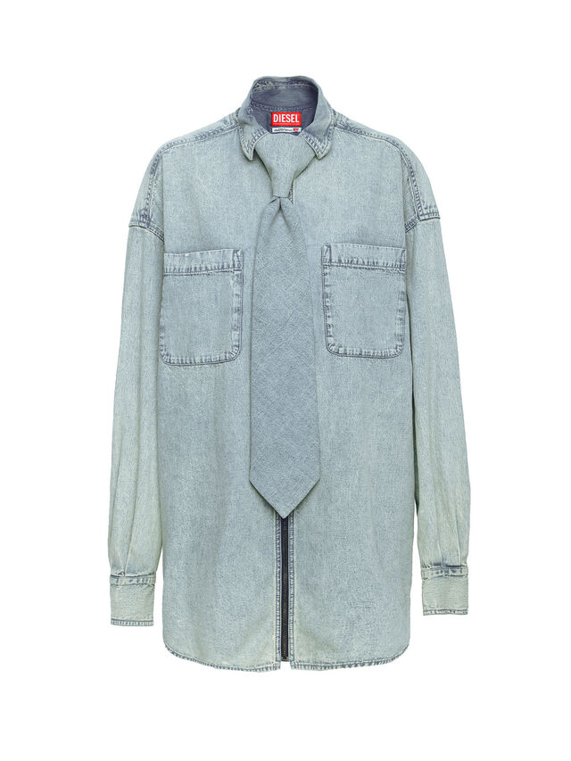 Diesel - SOTS01, Grey Jeans - Shirts - Image 1