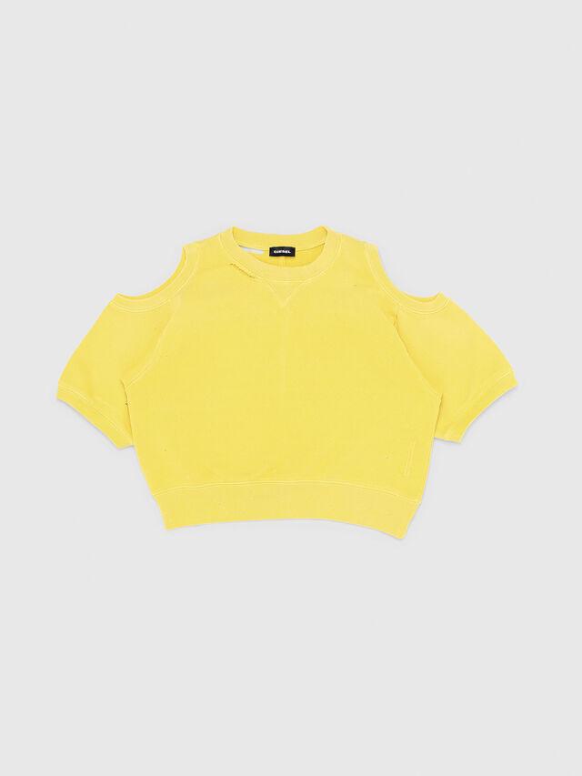 Diesel - SFADAM MC, Yellow - Sweaters - Image 1