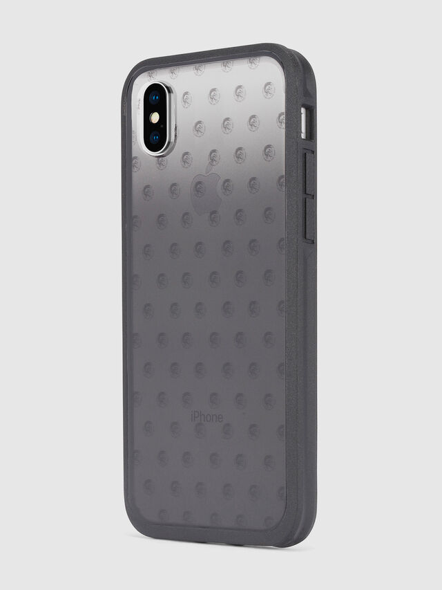 Diesel MOHICAN HEAD DOTS BLACK IPHONE X CASE, Black/Grey - Cases - Image 6