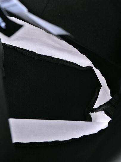 Diesel - BBAG-ZAINO, Black/White - Beachwear accessories - Image 4