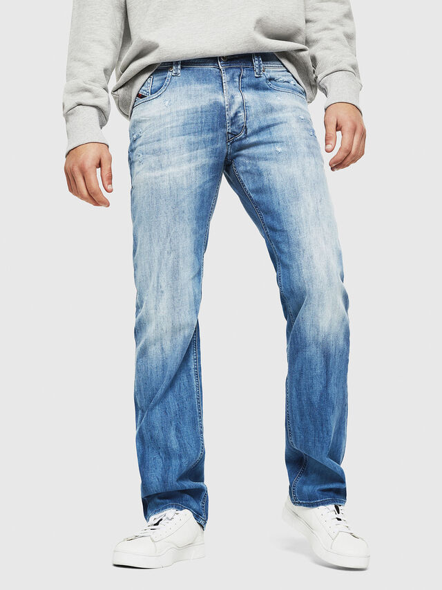 Diesel - Larkee 081AS, Medium blue - Jeans - Image 1