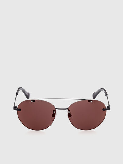 Diesel - DL0351, Black/Red - Sunglasses - Image 1