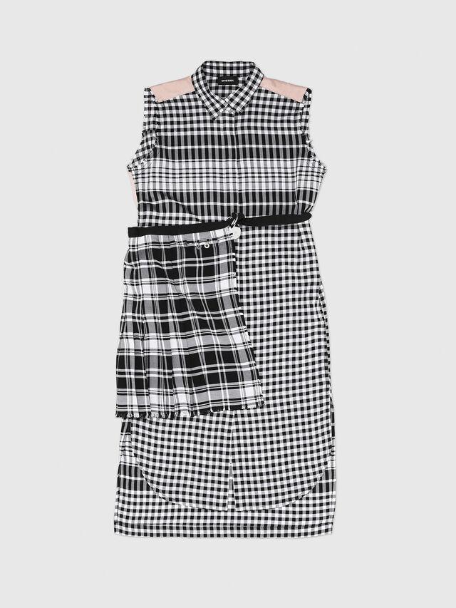 Diesel - DHELGE, Black/Pink - Dresses - Image 1