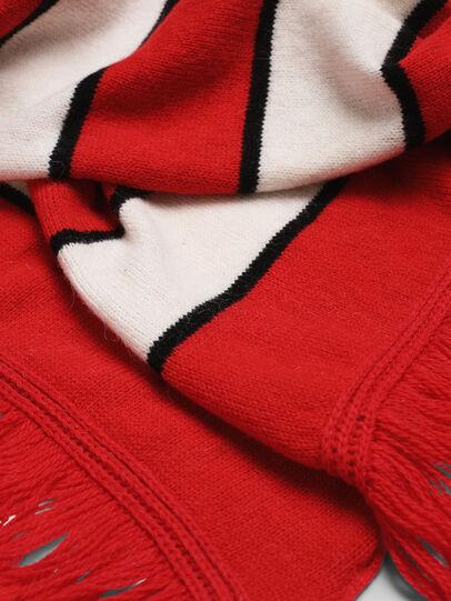 Diesel - K-PIX, Red/White - Scarf - Image 3