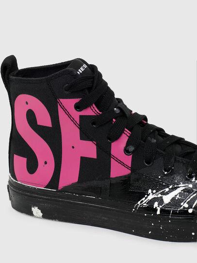 Diesel - S-ASTICO MC W, Black/Pink - Sneakers - Image 4