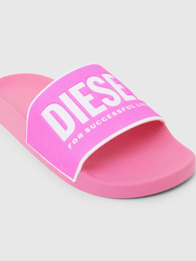Diesel - SA-VALLA W, Pink - Slippers - Image 4