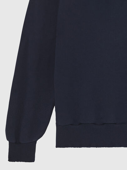 Diesel - S-GIR-HOOD-DIVISION-, Dark Blue - Sweaters - Image 4